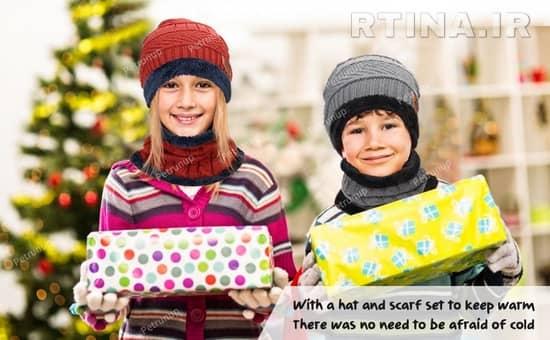 هدیه زمستانی برای دختر و پسر