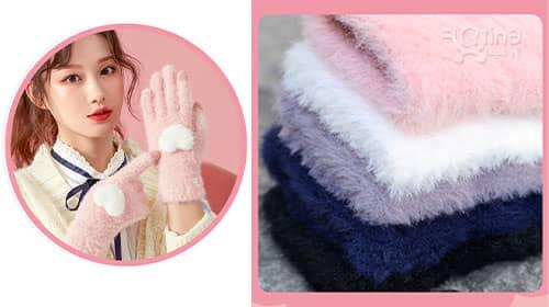 مدل دستکش دخترانه عروسکی جدید