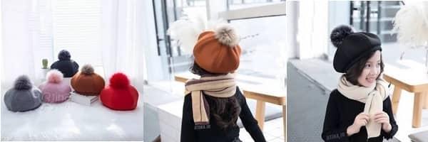 خرید آنلاین کلاه مجلسی بچه گانه جدید