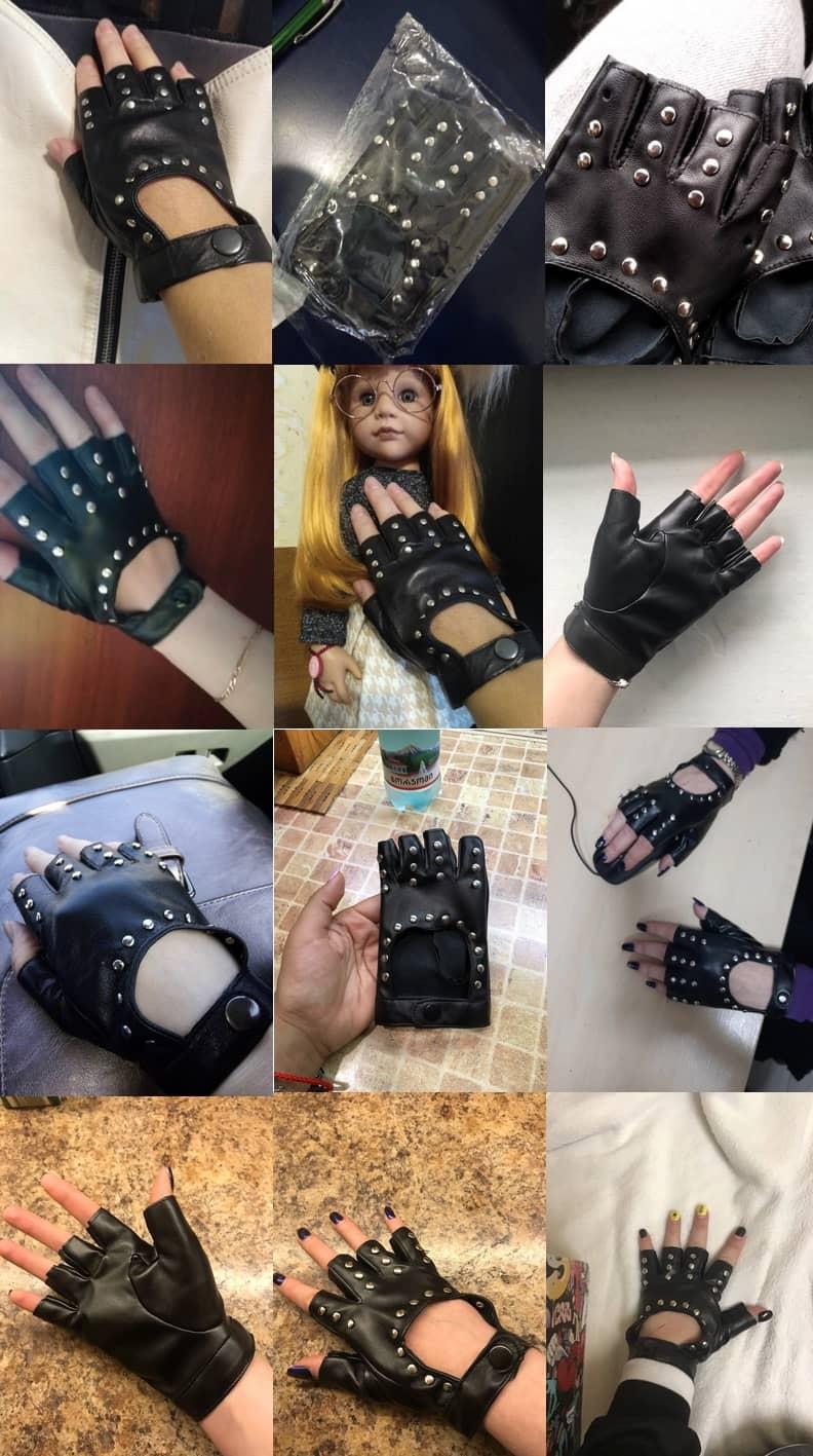 دستکش های دخترانه شیک