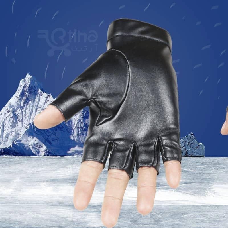 دستکش زمستانی چرمی