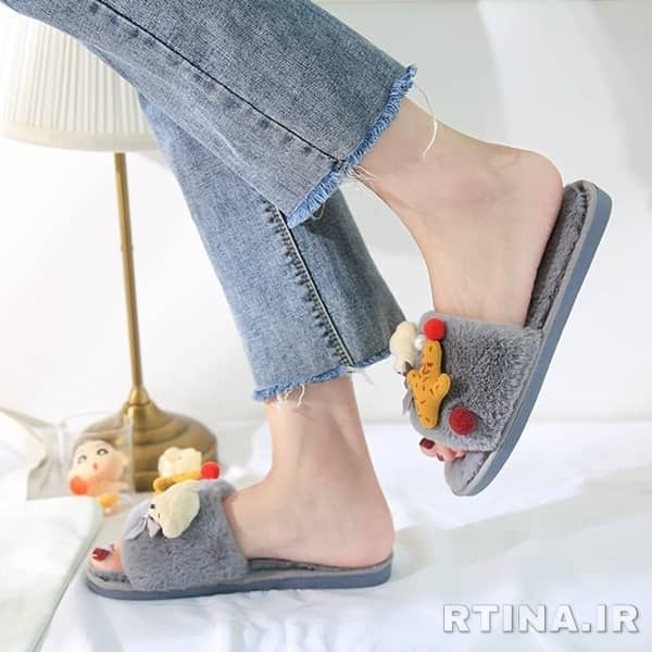کفش روفرشی دخترانه فانتزی