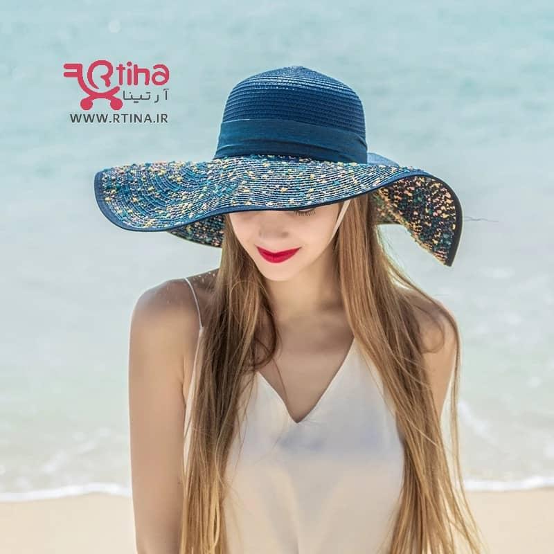 کلاه ساحلی دخترانه دیجی کالا
