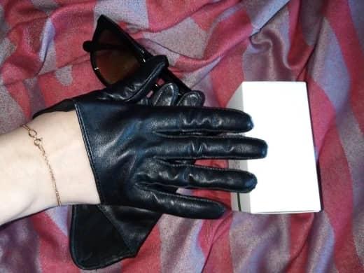 قیمت دستکش چرم اصل زنانه