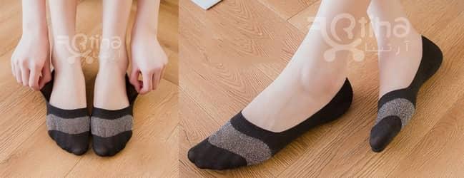 خرید جوراب لمه ای