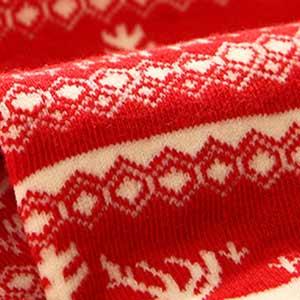 جوراب قرمز شیک و جذاب قرمز رنگ بانوان دخترانه