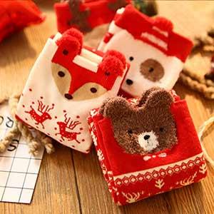 جوراب متفاوت و خاص مناسب مهمانی و دورهمی و کریسمس