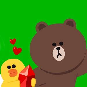 کلیپس شخصیت خرس قهوه ای لاین