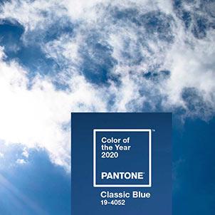آسمان آبی رنگ 2020