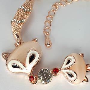 زیورآلات دخترانه و دستبند دخترانه روباه