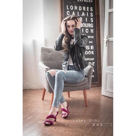 صندل زنانه چرمی