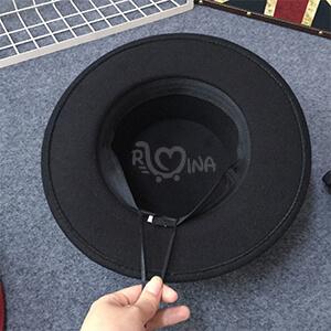 خرید کلاه فدورا مشکی