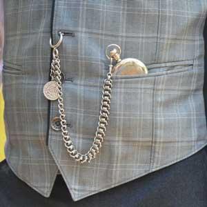 گردنبند ساعتی مردانه کلاسیک