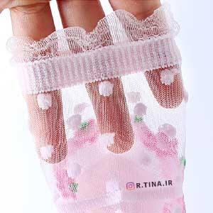 خرید جوراب نازک فانتزی دخترانه