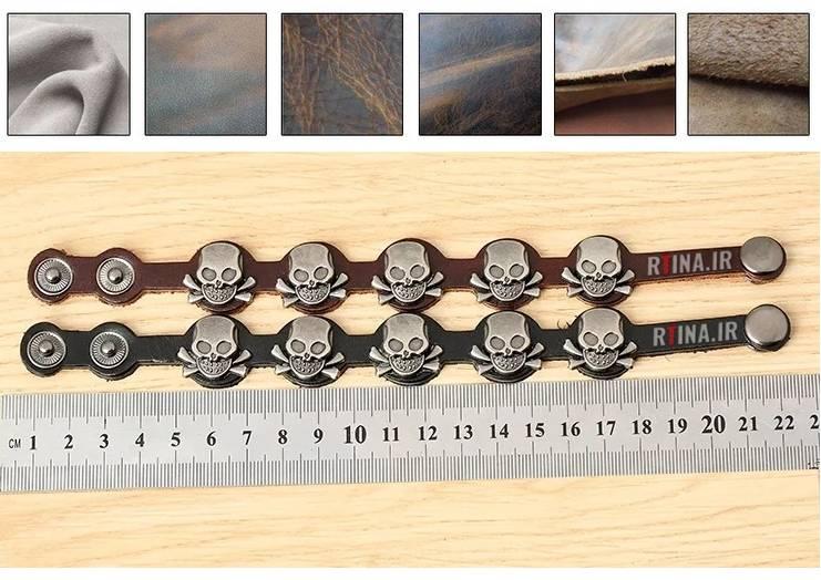 سفارش دستبند چرم اصلی