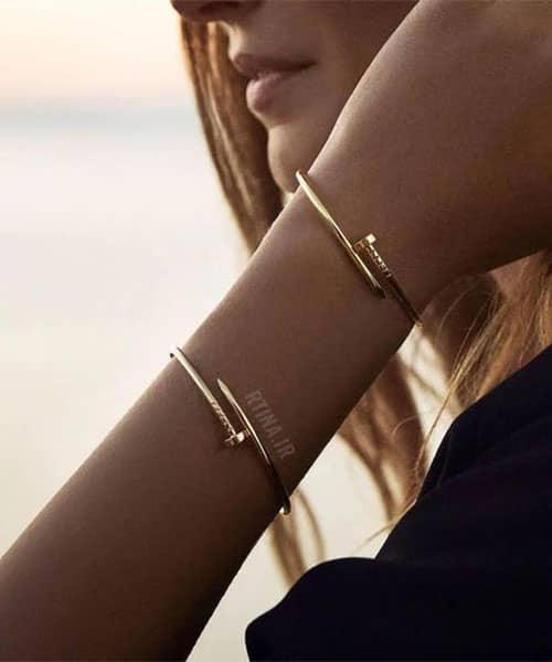 دستبند مردانه استیل مشکی