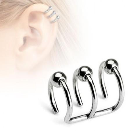 حلقه گوش و بینی دخترانه