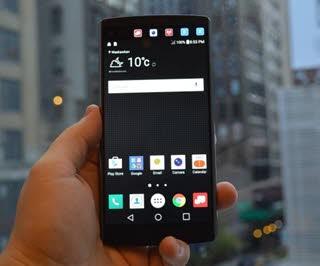معرفی تلفن هوشمند LG V10