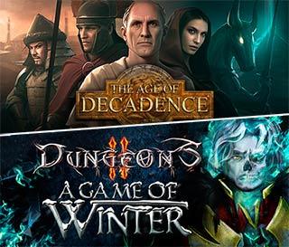 دانلود 2 بازی Dungeons 2 - A Game of Winter و The Age of Decadence