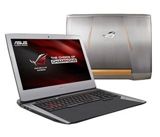 معرفی لپتاپ ROG G752 محصول جدید ASUS برای گیمرها با رم DDR4 و پردازنده SkyLake