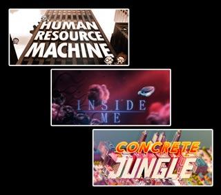 دانلود بازی های Human Resource Machine ، Concrete Jungle و Inside Me