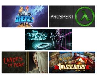 دانلود بازی های ZHEROS ، Prospekt ، TRON RUN/r ، Toy Soldiers Complete و Layers of Fear