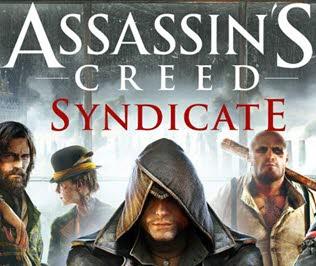 کاور و لیبل دیسک بازی Assassin's Creed Syndicate
