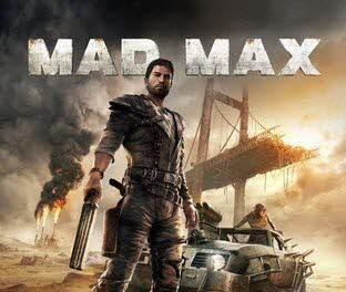 کاور و لیبل دیسک بازی Mad Max
