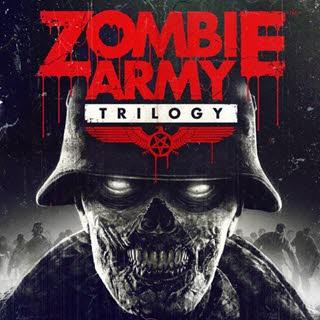 کاور و لیبل دیسک بازی Zombie Army Trilogy