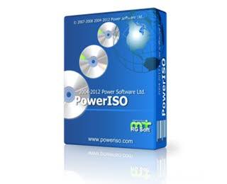 دانلود نرم افزار PowerISO برای مدیریت فایل های ISO