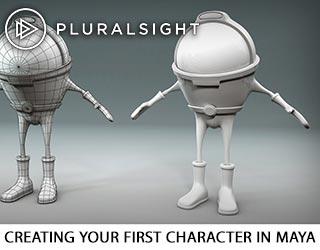 دانلود فیلم آموزش Creating Your First Character In Maya