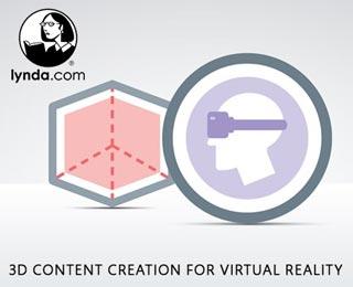 دانلود فیلم آموزش 3D Content Creation for Virtual Reality