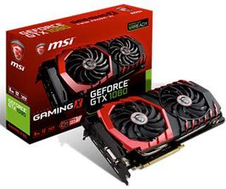 بررسی کارت گرافیک MSI GeForce GTX 1080 GAMING X 8G