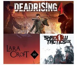 دانلود بازی های Dead Rising 4 ، Shadow Tactics: Blades of the Shogun و Lara Croft GO برای کامپیوتر