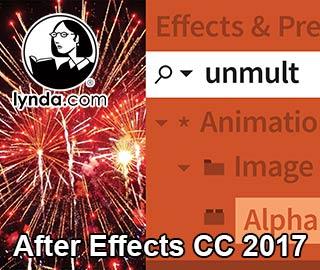 دانلود مجموعه آموزش های After Effects CC 2017 از موسسه Lynda