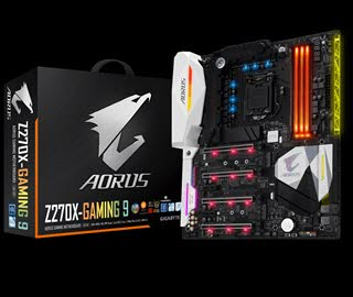 بررسی مادربرد GIGABYTE Aorus GA-Z270X-Gaming 9