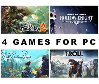دانلود بازی های Troll and I ، The Tenth Line ، Hollow Knight و Toukiden 2