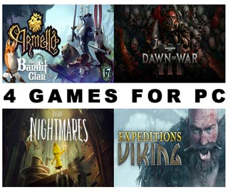 دانلود بازی های Warhammer 40000 Dawn of War III ، Little Nightmares ، Armello و Expeditions: Viking برای کامپیوتر