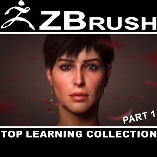مجموعه جامع و کامل آموزش نرمافزار ZBrush - قسمت اول