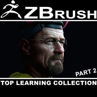 مجموعه جامع و کامل آموزش نرمافزار ZBrush - قسمت دوم