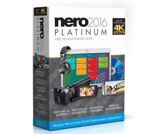 دانلود آخرین نسخه نرمافزار Nero 2016 مجموعه قدرتمند مالتیمدیا و رایت انواع دیسک