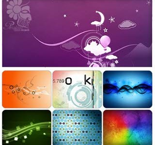دانلود والپیپرهای متنوع انتزاعی - Abstract Wallpaper Pack