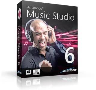 Ashampoo Music Studio 6.0.2 + Portable مدیریت فایل صوتی