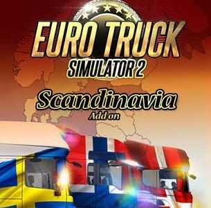 دانلود بازی Euro Truck Simulator 2 Scandinavia