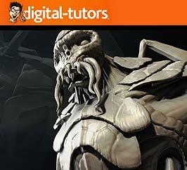 دانلود فیلم آموزش Digital Tutors Professional Series: Creature Creation Techniques in ZBrush