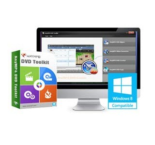 دانلود نرمافزار AnyMP4 DVD Toolkit v6.0.56.39605 جعبهابزار دیویدی