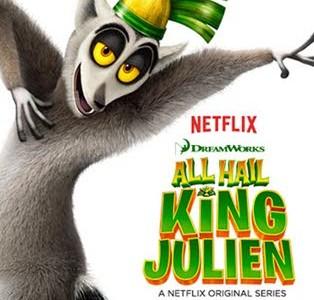 دانلود انیمیشن سریالی All Hail King Julien 2014