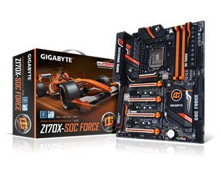 جعبه گشایی مادربورد Gigabyte Z170X SOC Force