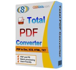 دانلود آخرین نسخه Coolutils Total PDF Converter نرمافزار تبدیل فایلهای PDF به فرمتهای دیگر