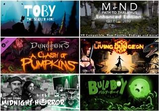 دانلود 6 بازی Toby: The Secret Mine ، The Last Crown: Midnight Horror ، Bulb Boy ، Dungeons 2 - A Clash of Pumpkins ، The Living Dungeon ، Mind: Path to Thalamus Enhanced Edition